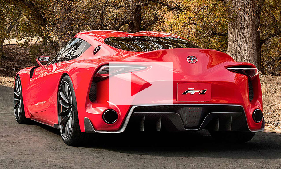 Toyota Ft 1 >> Toyota Supra (2018): Video | autozeitung.de