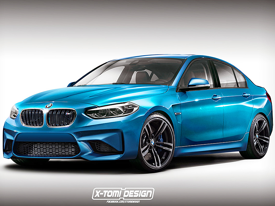 Bmw 1er M Limousine Illustration Autozeitung De