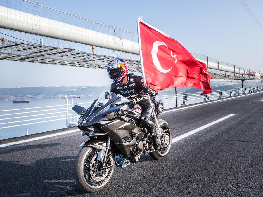 Kawasaki Ninja H2r Fährt 400 Kmh Autozeitungde