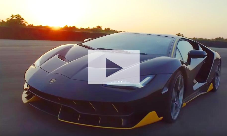 Lamborghini Centenario 2016 Video Autozeitung De