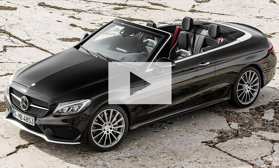 mercedes c klasse cabrio 2016 video