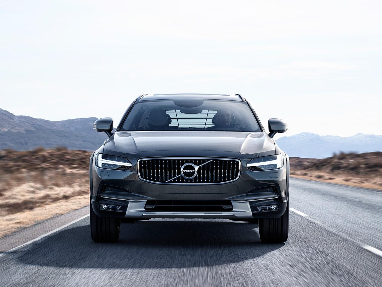 Volvo V90mercedes E Klasse T Modell Test Autozeitungde