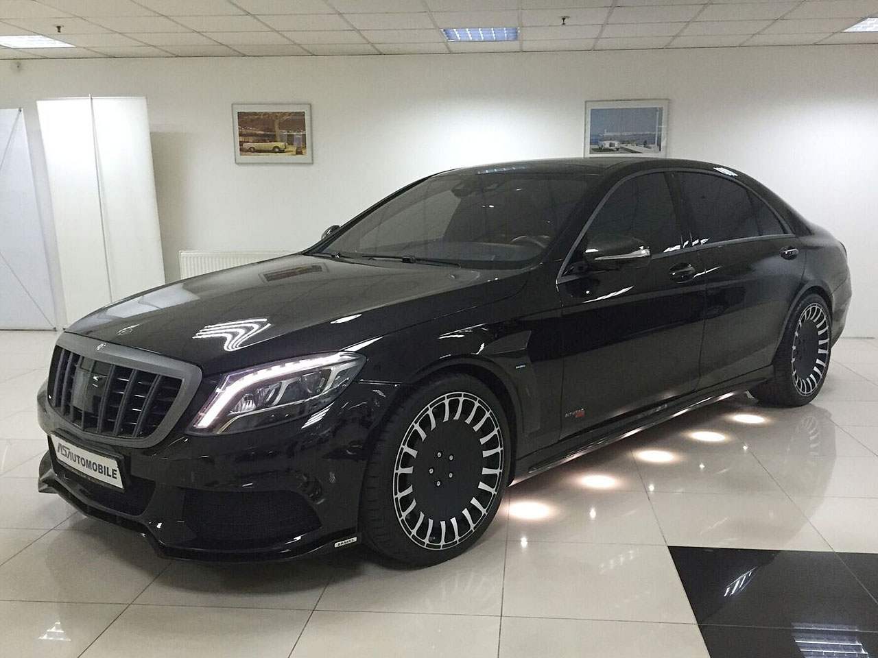 mercedes s 63 amg l tuning von gad brabus. Black Bedroom Furniture Sets. Home Design Ideas
