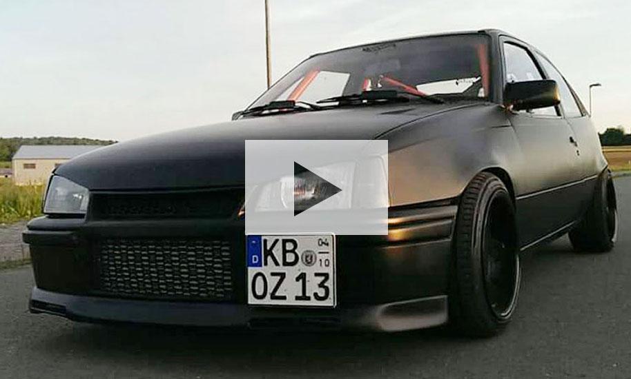 Opel Kadett Gsi 16v Turbo Video Autozeitung De