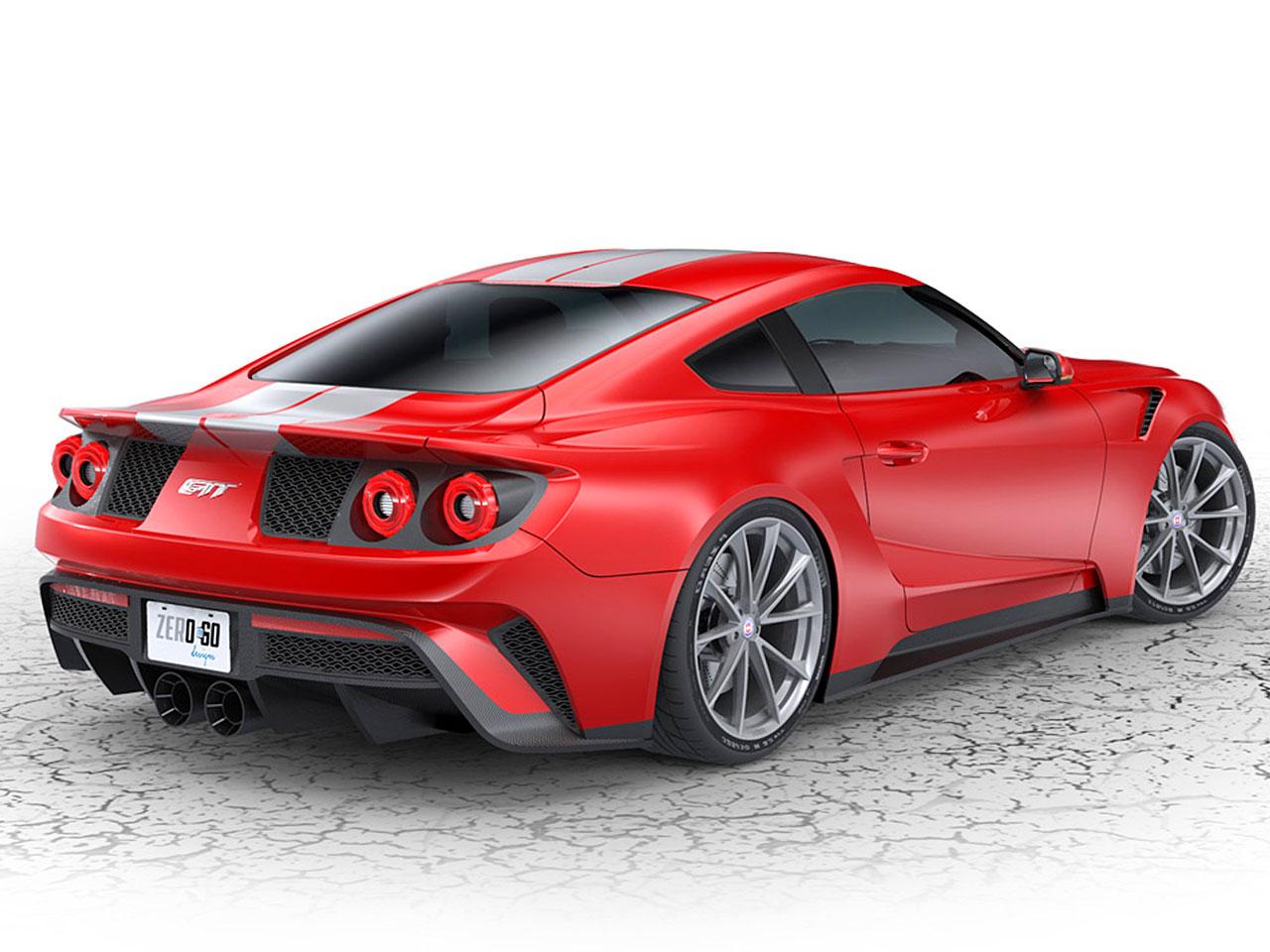 Ford mustang gtt tuning von zero to 60 designs autozeitung de