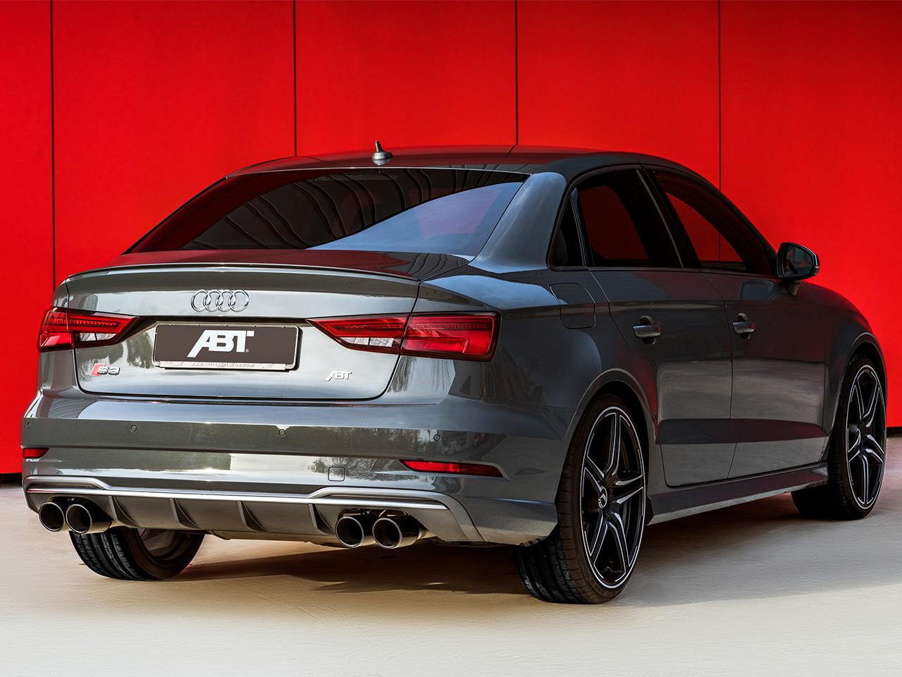audi s3 facelift limousine: tuning von abt | autozeitung.de