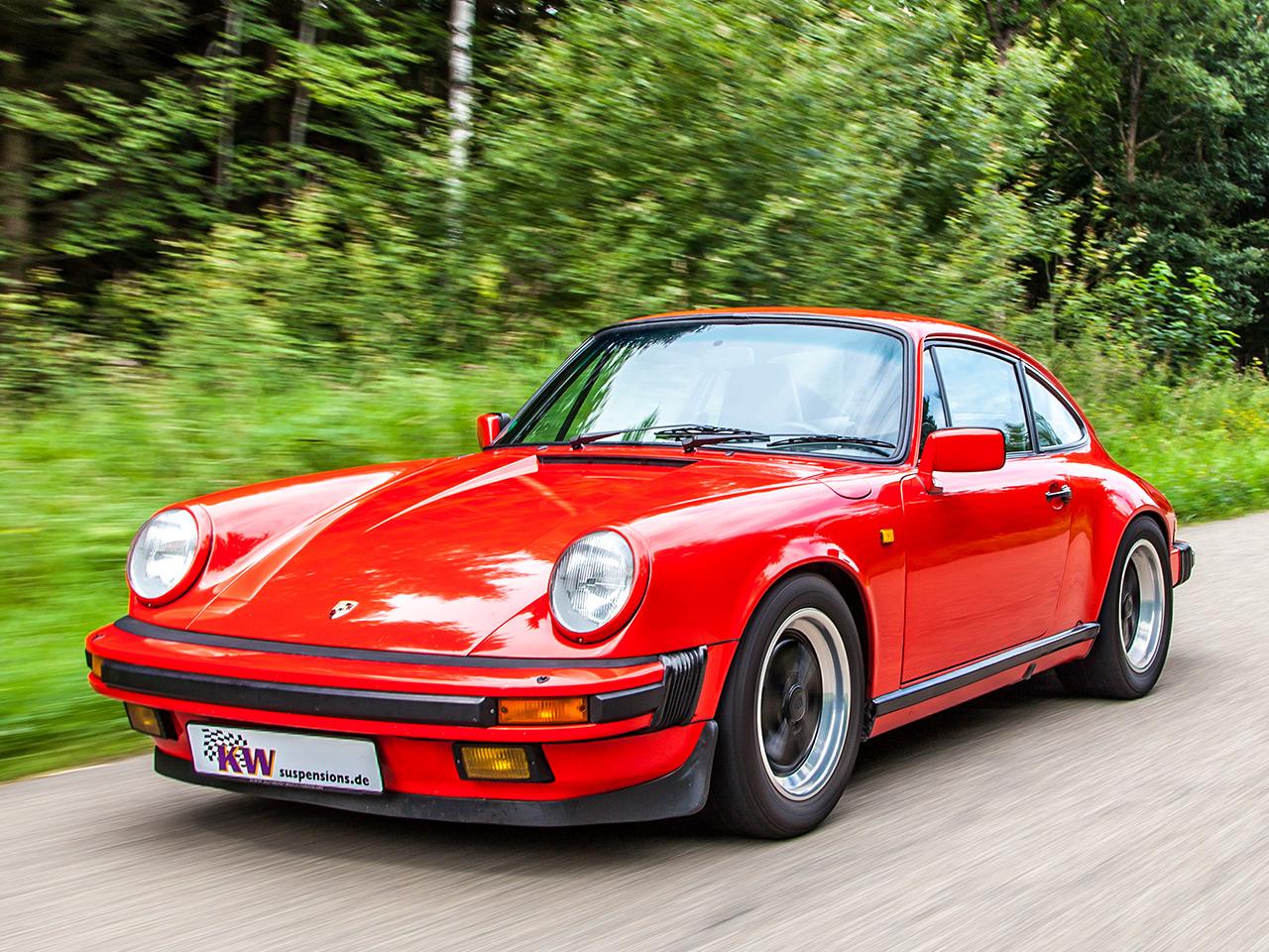 Mercedes Tour Van >> Porsche 911 (G-Modell): Sportfahrwerk von KW | autozeitung.de