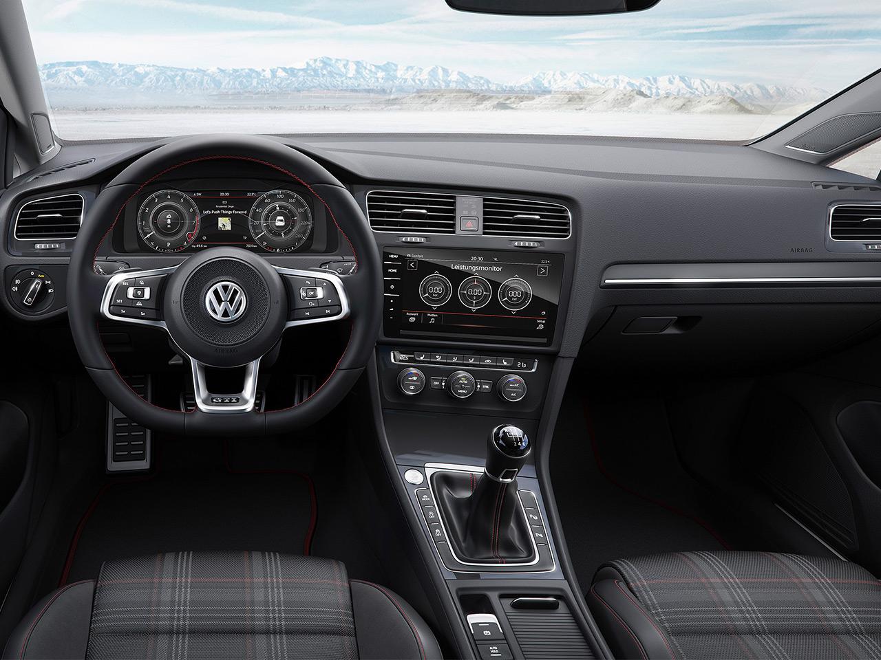 Golf Gti Performance 2017 >> Vw Golf 7 Gti Facelift 2017 Preis Motor Autozeitung De