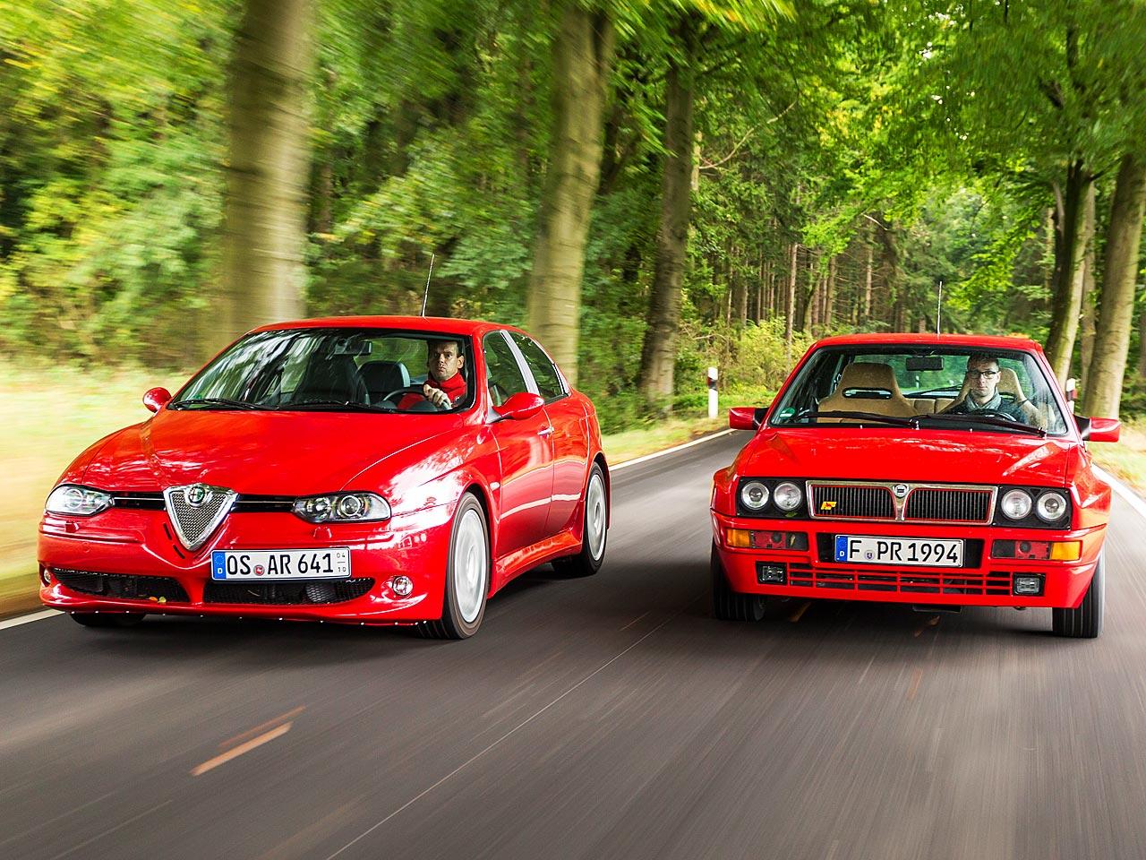 Alfa 156 GTA/Delta Integrale: Classic Cars | autozeitung.de