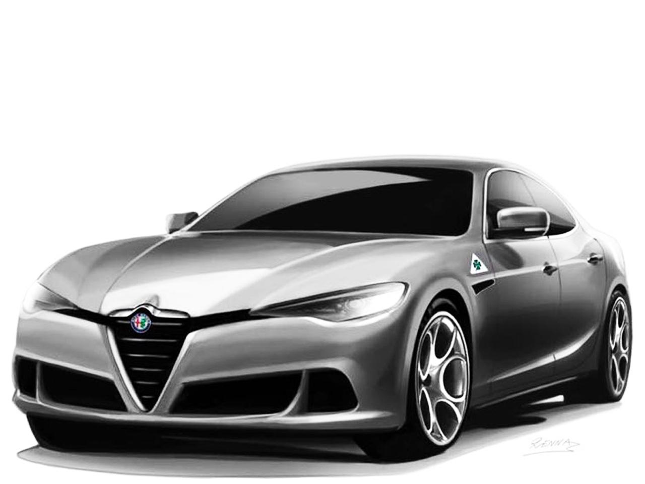 Alfa Romeo Alfetta (2018): Illustration (Update ...