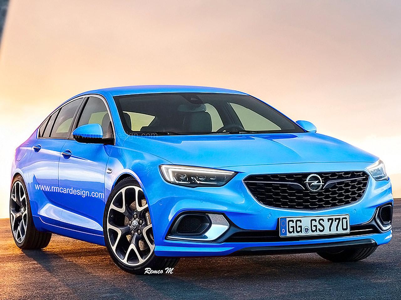 Opel Insignia Opc Illustration Autozeitung De