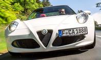 Alfa Romeo 4C Spider (2015)