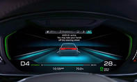 Audi A8 (2017) Cockpit