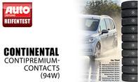 Platz 2: Continental ContiPremium-Contact5