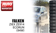 Platz 10: Falken Ziex ZE914 Ecorun