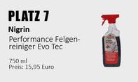 Platz 7: Nigrin – Performance Felgenreiniger Evo Tec