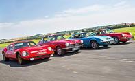 BMW/Melkus/Opel/Porsche Vergleich