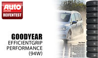 Platz 3: Goodyear EfficientGrip Performance