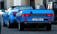 Lamborghini Gallardo mit Anhänger