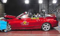 Mercedes C-Klasse Cabrio im Crashtest