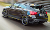 "Mercedes-AMG GLA 45 Facelift (2017) ""Yellow Night Edition"""