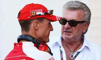 Michael Schumacher und Willi Weber