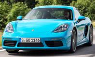 Porsche 718 Cayman (2016)
