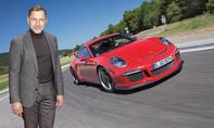 Gewinnen Sie eine Mitfahrt im Porsche 911 GT3, chauffiert von Richy Müller