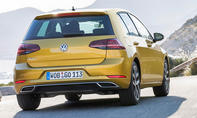 VW Golf Facelift