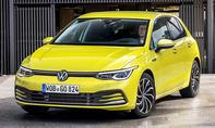 1. Platz VW Golf 15,6 %