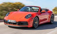 1. Platz Porsche 911 Cabrio 16,8 %