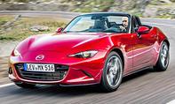 1. Platz Mazda MX-5 18,0 % (Importwertung)