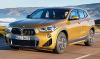 1. Platz BMW X2 14,4 %