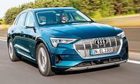 1. Platz Audi e-tron 35,5 %