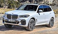 1. Platz BMW X5 15,5 % (Luxus-SUV)