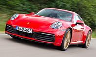 1. Platz Porsche 911 32,9 % (Sportwagen)