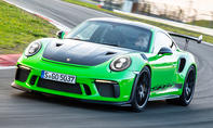 1. Platz Porsche 911 GT3 RS 13,5 % (Supersportwagen)