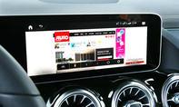 Mercedes GLA: Connectivity