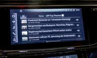 Audi SQ8 TDI: Connectivty