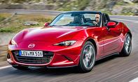 1. Platz Mazda MX-5 16,8 % (Importwertung)