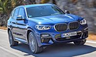 1. Platz BMW X3 19,6 %