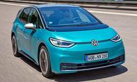1. Platz VW ID.3 18,7 %