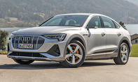 1. Platz Audi e-tron Sportback 19,0 %