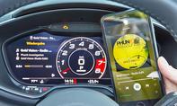Audi TT Roadster: Connectivity