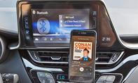 Toyota C-HR: Connectivity