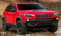 Jeep Cherokee Facelift (2018)