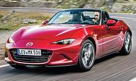 1. Platz – Mazda MX-5, 9,7 % (Importwertung)