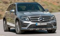1. Platz – Mercedes GLC, 13,3 %