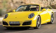 1. Platz – Porsche 911 Cabrio, 16,4 %
