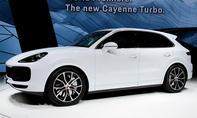 Porsche Cayenne Turbo (2017)